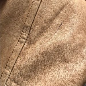 Vince Jackets & Coats - Vince leather bomber jacket broken in size small S